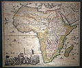 Accuratissima Totius Africae in Lucem Producta, by Jacob Sandrart, Nurnberg, 1702, engraved by Johann Baptist Homann Sr. and Frederick de Wit - Maps of Africa - Robert C. Williams Paper Museum - DSC00605.JPG