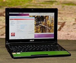 Acer Aspire One Line of netbooks by Acer Inc.