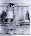 Acquarello di D'Andrade Castello di Cesnola Affreschi nella cappella fig 2.tiff