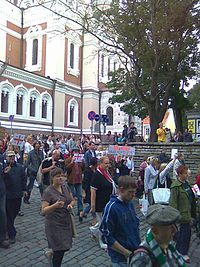 Action for the support of Georgia in Helsinki, Finland (16).jpg