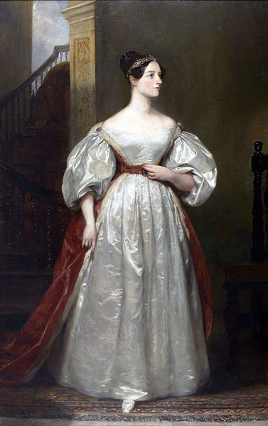 Painting of Ada Lovelace by Margaret Carpenter