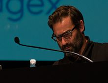 Adam Buxton at dConstruct 2013.jpg