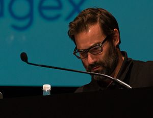 Adam Buxton - Buxton at dConstruct in 2013