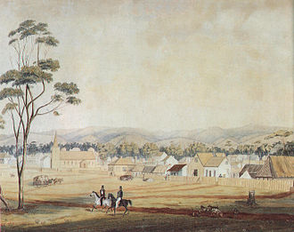Joseph Whittaker - Adelaide in 1839 where Whittaker was a gardener