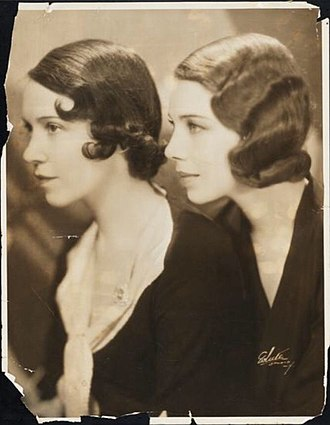 Tilly Losch - Image: Adele Astaire & Tilly Losch