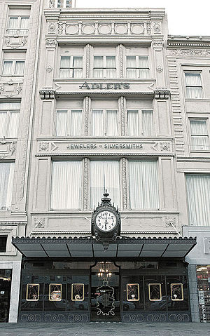 Coleman Adler - Adler's Jewelry, 722 Canal Street, New Orleans, circa 1990