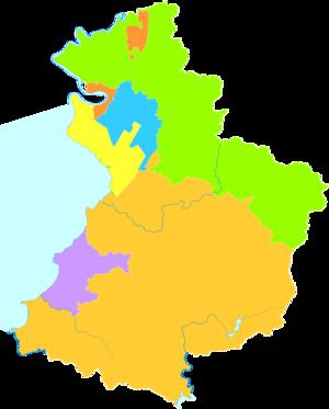 Yingkou - Image: Administrative Division Yingkou