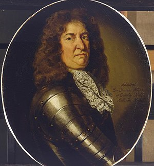 Sir Thomas Allin, 1st Baronet - Admiral Sir Thomas Allin, painted c. 1680 by Sir Godfrey Kneller.