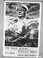 Affiche Rijksvoorlichtingsdienst Wervingsposter Karel Doorman Ik val aan, vol, Bestanddeelnr 900-8275.jpg