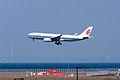 Air China ,CA921 ,Airbus A330-243 ,B-6540 ,Arrived from Shanghai ,Kansai Airport (16045922134).jpg