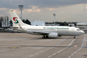 Air Sénégal International - An Air Sénégal International Boeing 737-700 at Paris Orly Airport in 2007.