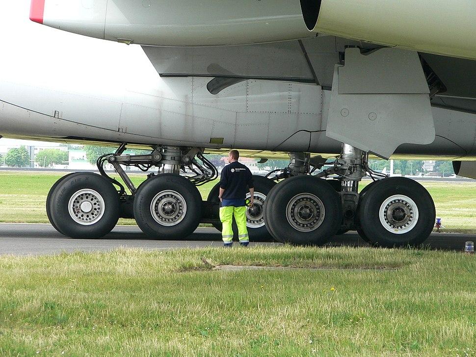 Airbus A380 Fahrwerk