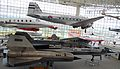 Aircraft in the great gallery of the Museum of Flight (6194334038).jpg