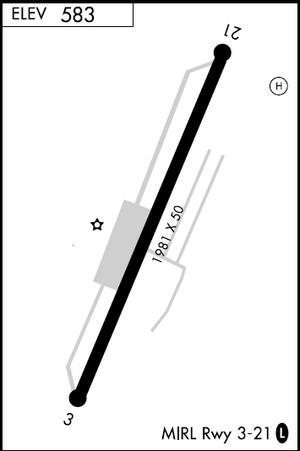 Aeroflex–Andover Airport - Image: Airport diagram Andover NJ 12N