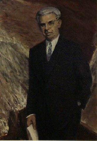 Arthur Goldberg - The official portrait of Arthur J. Goldberg hangs in the Department of Labor