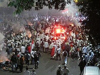 November 2016 Jakarta protests - Protests against Basuki in Jakarta, 4 November 2016