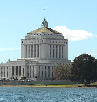 Earl Warren - The Alameda County Superior Courthouse, completed in 1934