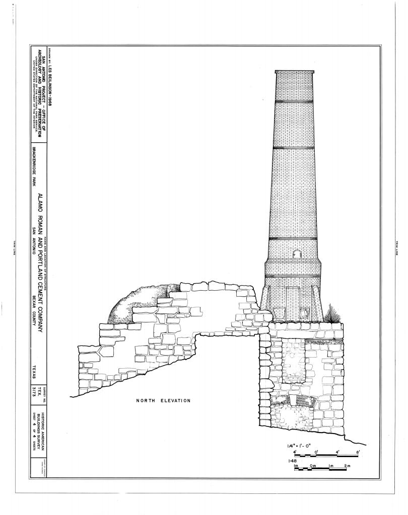Alamo floor plan 1836 alamo renovation and preservation for 13th floor studios san antonio