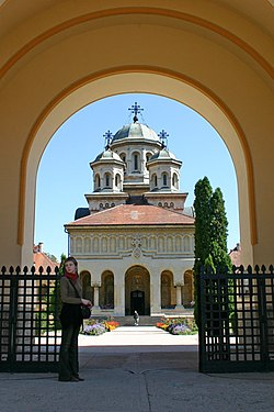 Orthodoxe Kathedraal in Alba Iulia