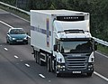 Aldi Scania articulated vehicle on M42 - geograph.org.uk - 1364768.jpg