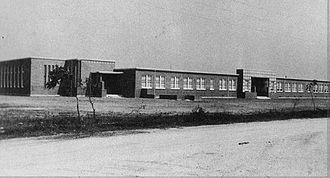 Aldine High School - The first Aldine High School in 1948