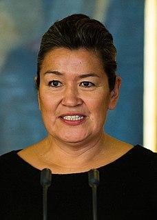 Aleqa Hammond Prime Minister of Greenland since 2013