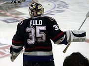Alex Auld during his tenure with Vancouver