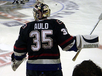 Alex Auld - Alex Auld during his tenure with Vancouver.