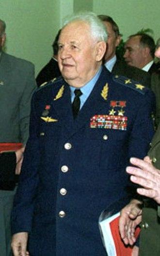 Marshal of the branch - Marshal of the aviation Alexander Yefimov