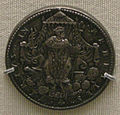 Alexandre olivier, medaglia argentea del massacro di san bartolomeo, 14 agosto 1572.JPG