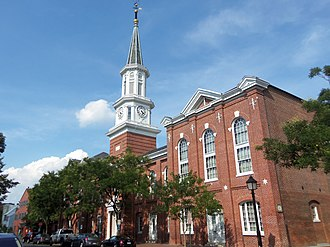 National Register of Historic Places listings in Alexandria, Virginia - Image: Alexandria City Hall 2013