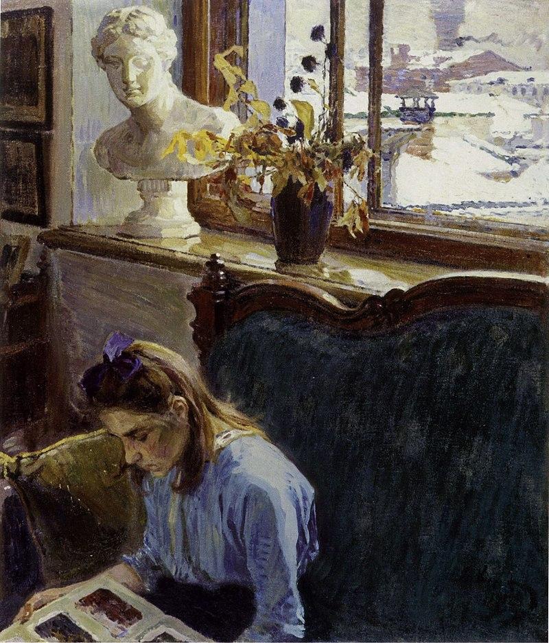 Алексей Михайлович Корин - Окно (1912).jpg