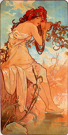 Summer - 1896 - Alphonse Mucha