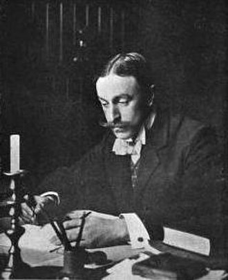 Alfred Horsley Hinton - Hinton, photographed by Percy G. R. Wright, c. 1904