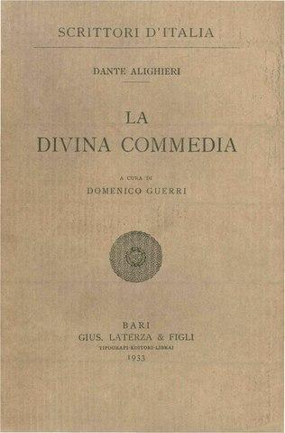 Dante Alighieri Divina Commedia Pdf