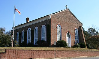 National Register of Historic Places listings in Worcester County, Maryland - Image: All Hallows Episcopal Church, Snow Hill, Maryland