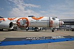 All Nippon Airways (Star Wars - BB-8 livery), Boeing 777-381(ER), JA789A (25486418004).jpg