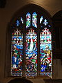 All Saints church, Kingston upon Thames (stained glass) 11.JPG