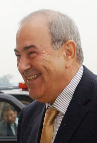 Iraqi governorate elections, 2009 - Ayad Allawi