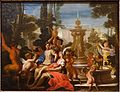Allegorical Subject in a Garden, by Domenico Piola, Genoa, 1690s, oil on canvas - Blanton Museum of Art - Austin, Texas - DSC07982.jpg