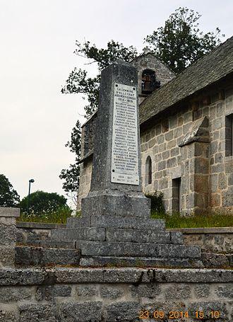 Alleyrat, Corrèze - Alleyrat War Memorial
