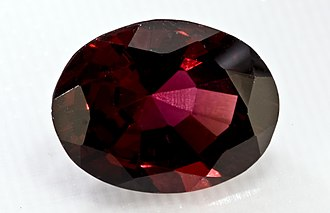 Natural resources of India - Almandine (garnet group) from Rajasthan