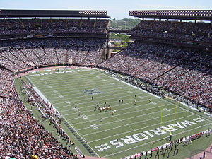 Aloha Stadium: USC @ Hawaii. Photo taken by Bo...