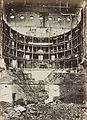 Alphonse Liébert, Le Théâtre Lyrique incendié Vue interieure de la salle - Library of Congress.jpg