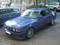 Alpina B10 BiTurbo BASIS BMW 5er Gen3 E34 1989-1994 frontleft