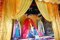 Altar to Zhuge Liang inside the ancestral temple in his hometown Yinan, Shandong, China.png