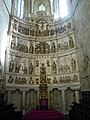 Altarpiece by João de Ruão, Guarda Cathedral, 01 October 2016.JPG