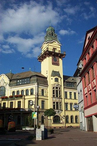 Völklingen - Image: Altes Rathaus Voelklingen