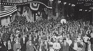 American Legion - Crowd at American Legion Convention held in New Orleans, 1922