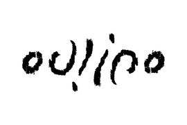 Ambigramme Oulipo (bold pencil).png